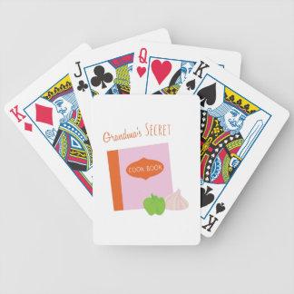 Grandmas Secret Bicycle Playing Cards