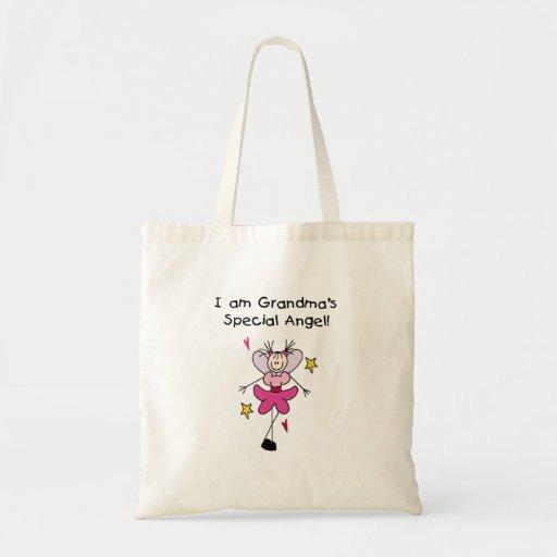 Grandma's Special Angel Budget Tote Bag