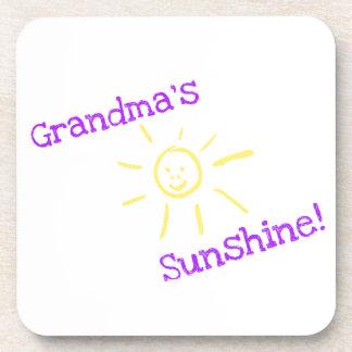 Grandma's Sunshine! Beverage Coaster