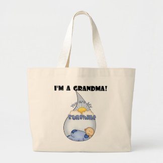 Grandma's Sunshine-Boy T-shirts and Gifts Large Tote Bag