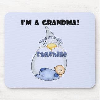 Grandma's Sunshine-Boy T-shirts and Gifts Mouse Pad