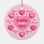 Grandma's Sweethearts Personalized Ornament