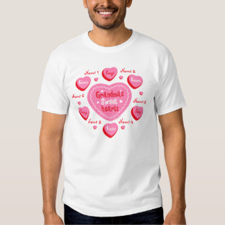 Grandma's Sweethearts Personalized T-Shirt
