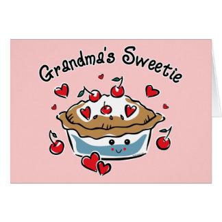 Grandma's Sweetie Pie Greeting Card