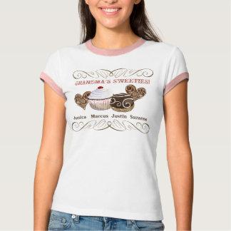 Grandma's Sweeties, Personalized Tee Shirt
