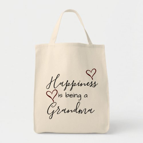 grandmas tote _ happiness is being a grandma