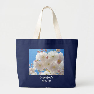 Grandma's Treats! gifts Easter tote bag Blossoms