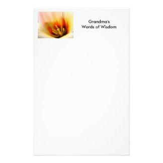 GRANDMA'S WORDS of WISDOM Stationery Gifts TULIPS