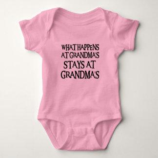 GRANDMASBLK BABY BODYSUIT