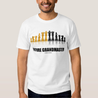 Grandmaster futuro (juego de ajedrez) camisas