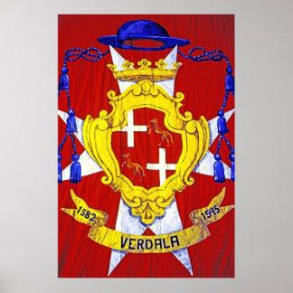 Grandmaster Verdalle, Malta Poster