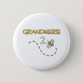 Grandmere 2 Bee Button