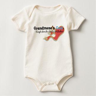 Grandmere Has Hot Flashes Baby Bodysuit