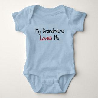 Grandmere Loves Me Baby Bodysuit