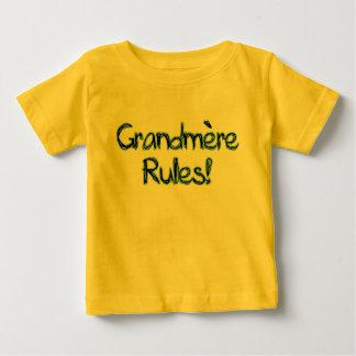 Grandmere Rules! Baby T-Shirt