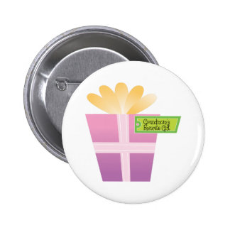 Grandmom's Favorite Gift Pinback Buttons
