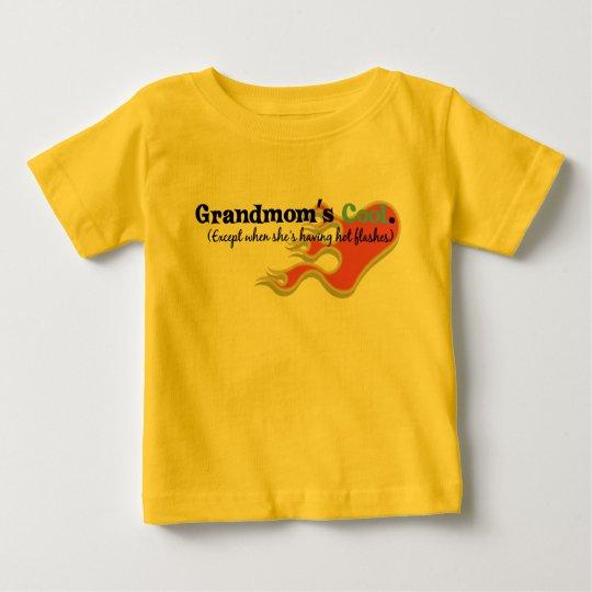 Grandmom has Hot Flashes Baby T-Shirt