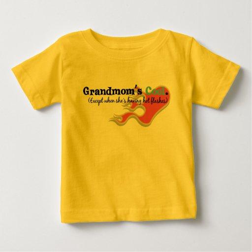 Grandmom has Hot Flashes T-shirts