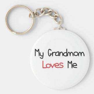 Grandmom Loves Me Key Chains