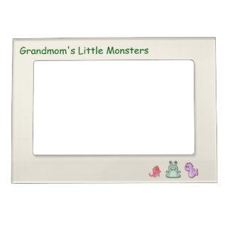 Grandmom's Little Monsters Magnetic Photo Frame