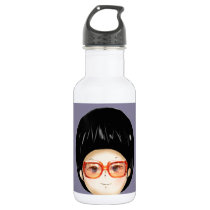 Grandmother animation water bottle
