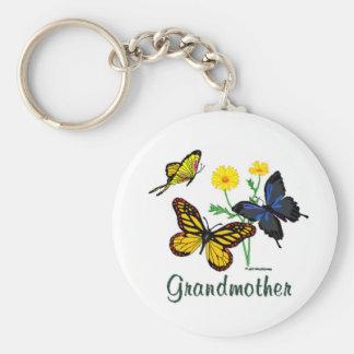 Grandmother Butterflies Key Chain