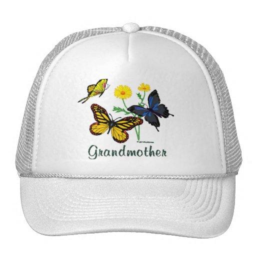 Grandmother Butterflies Trucker Hat