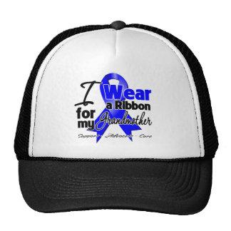 Grandmother - Colon Cancer Ribbon Mesh Hat