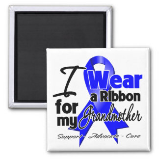 Grandmother - Colon Cancer Ribbon Refrigerator Magnets