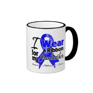 Grandmother - Colon Cancer Ribbon Mugs