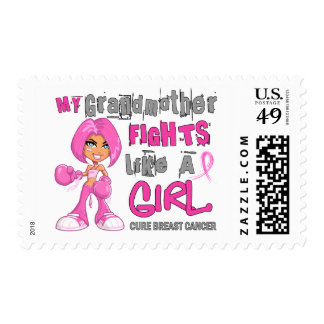 Grandmother Fights Like Girl Breast Cancer 42 9 pn Stamps