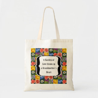 Grandmother : Garden of Love Tote Bag
