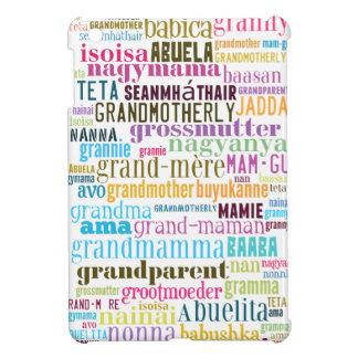 Grandmother In Many Languages iPad Case iPad Mini Case