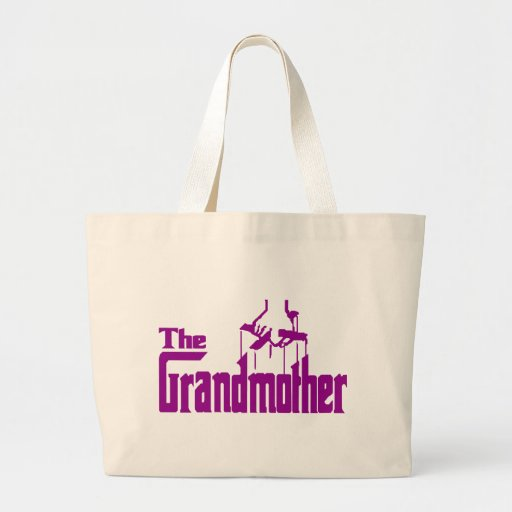Grandmother Jumbo Tote Bag
