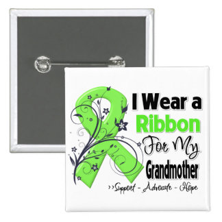 Grandmother - Lymphoma Ribbon Button