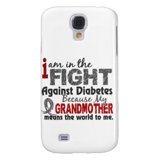Grandmother Means World To Me Diabetes Samsung Galaxy S4 Cases