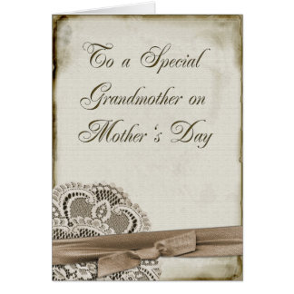 Grandmother Mother's Day Vintage Cards