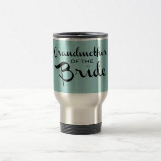 Grandmother of Bride Black on Sea Travel Mug