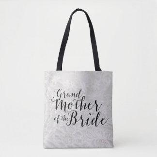 Grandmother of Bride Gift Bridal Canvas Tote Bag
