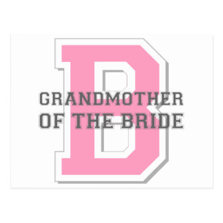Grandmother of the Bride Cheer Postcard