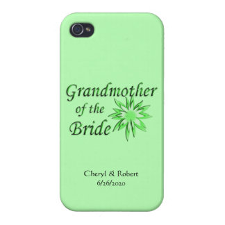Grandmother of the Bride Green iPhone 4 Case