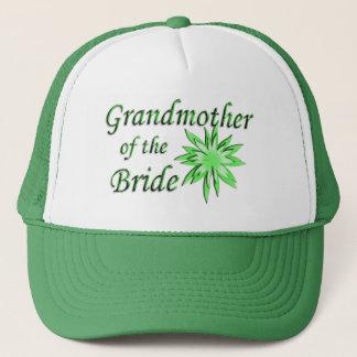 Grandmother of the Bride Green Trucker Hat