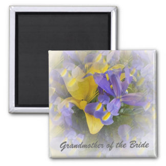 Grandmother Of The Bride Magnet Irises And Lilies