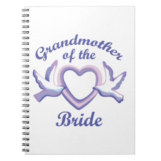 GRANDMOTHER OF THE BRIDE NOTEBOOK
