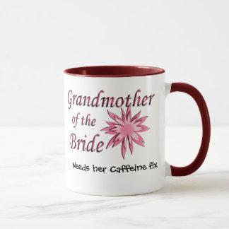 Grandmother of the Bride Pink Mug
