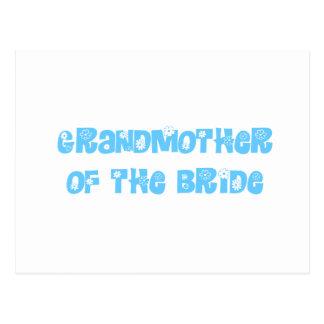 Grandmother of the Bride Postcard