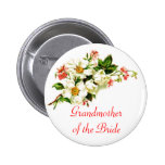 Grandmother of the Bride Spray of Flowers Floral Buttons