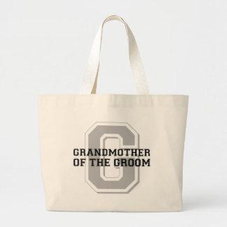 Grandmother of the Groom Cheer Tote Bag