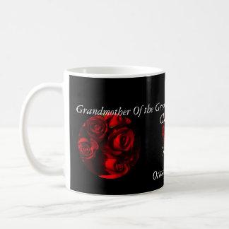 Grandmother Of the Groom - Crimson Bouquets Classic White Coffee Mug
