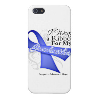 Grandmother Periwinkle Ribbon - Stomach Cancer Cases For iPhone 5